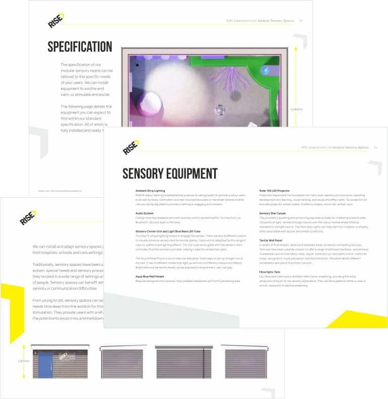 Sensory Rooms Product Sheet